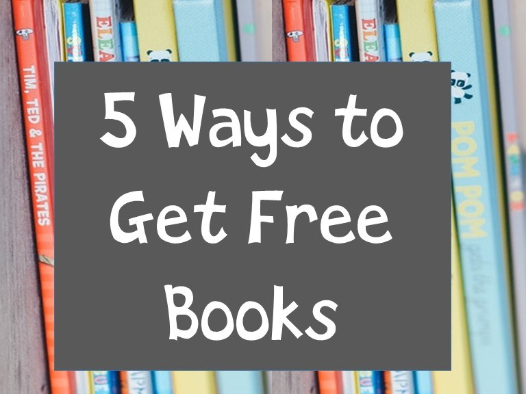 5 Way to Get Free Books