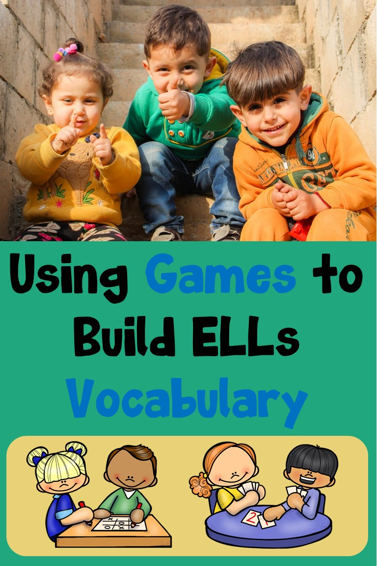Using Games to Build ELL Vocabulary