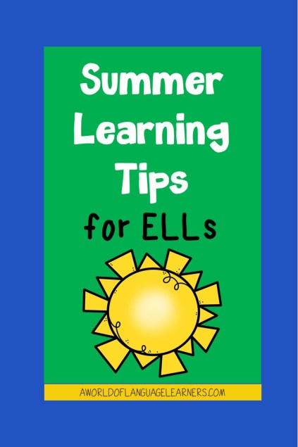 Summer Learning Tips for ELLs
