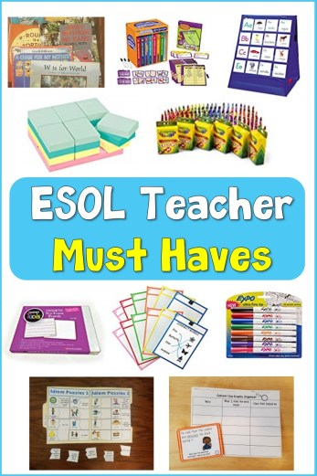 ESOL teacher must haves