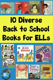 Diverse Back to School Books for ELLs