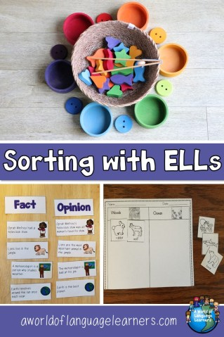 Sorting with ELLs