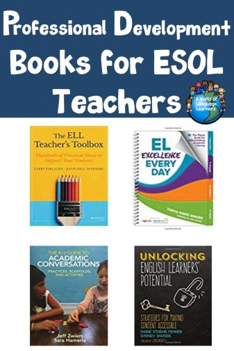 Professional Development Books for ESOL Teachers