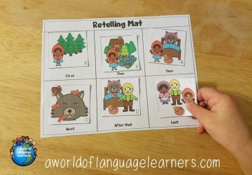 Fairy tale retelling cards