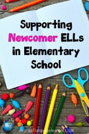 Supporting Elementary Newcomers