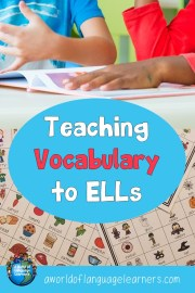 Teaching Vocabulary to ELLs