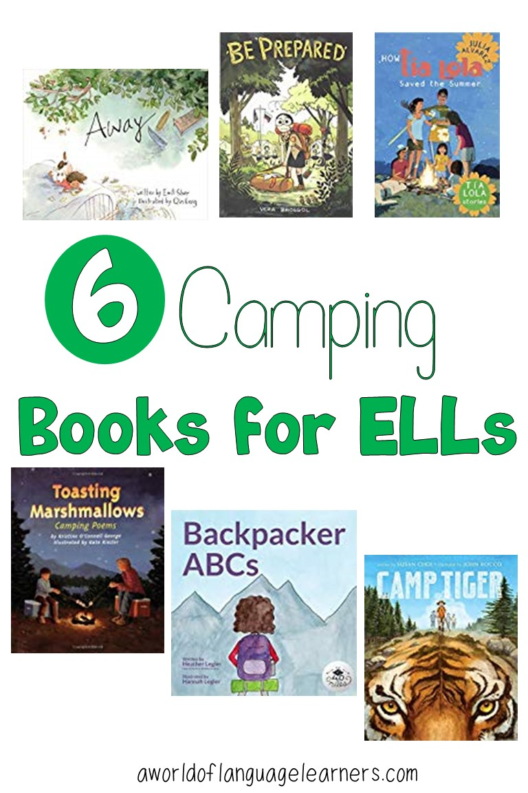 Camping Books for ELLs