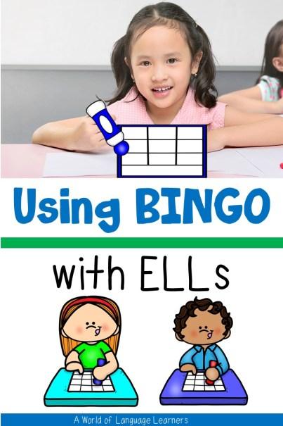 Using Bingo with ELLs
