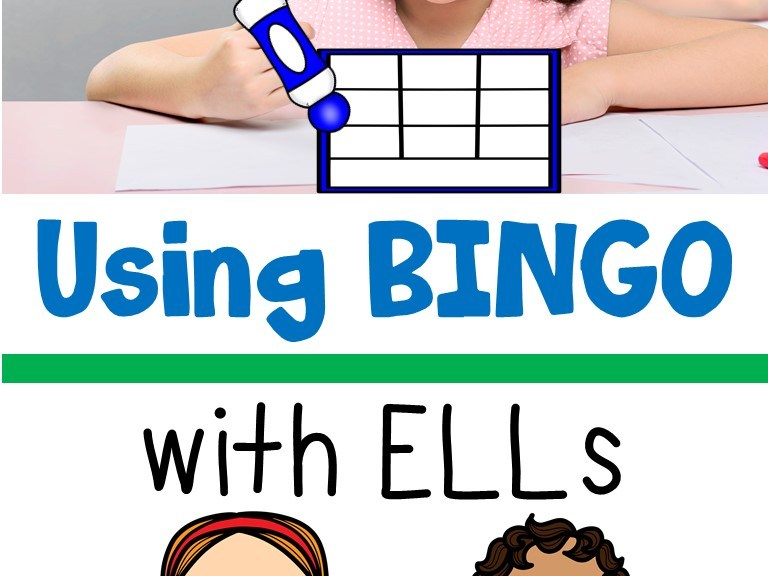 Using Bingo with ELLs