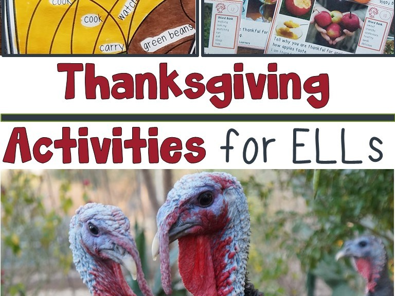 Thanksgiving Activities for ELLs