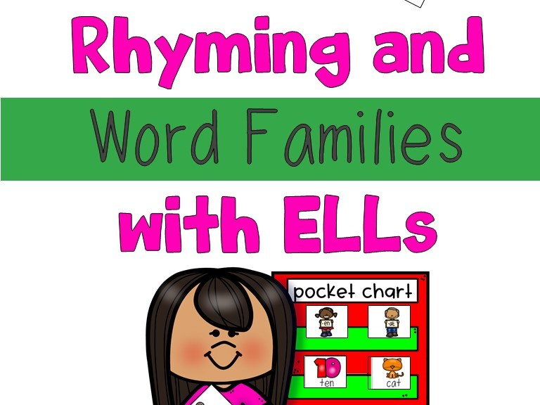 Rhyming and Word Families with ELLs