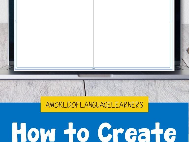 Create Digital Word Sorts