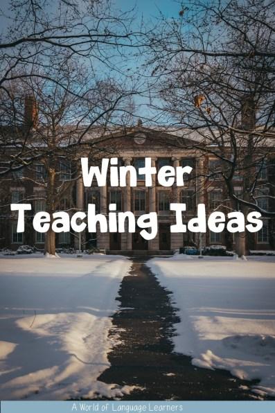 winter teaching ideas