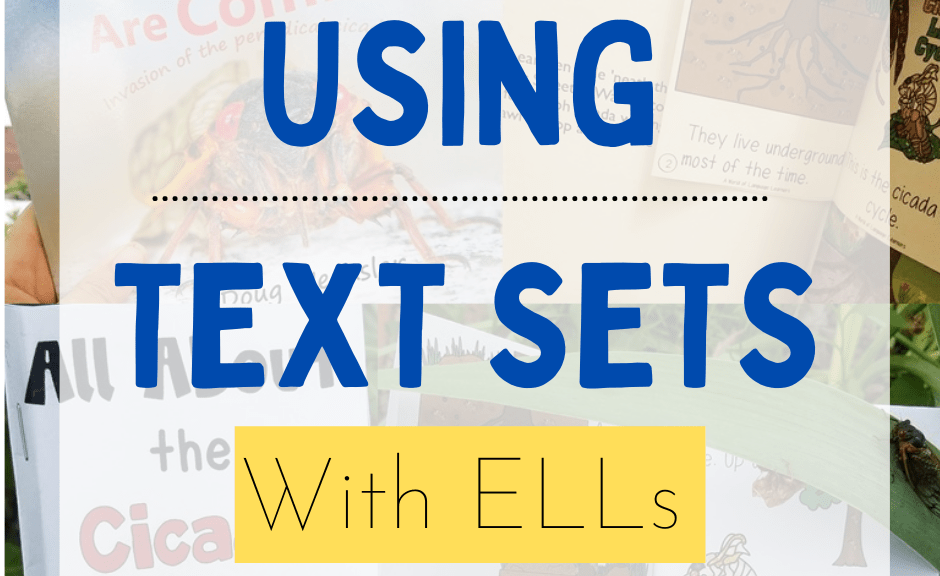 Using text sets with ELLs