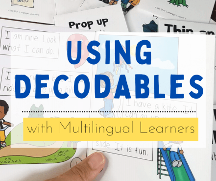 Using Decodables