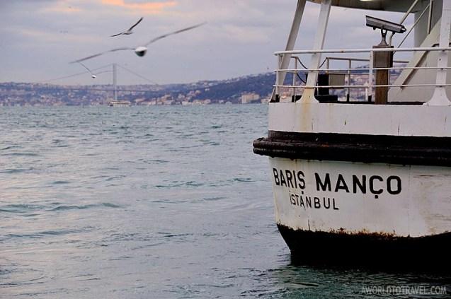 Bosphorus boat cruise Istanbul Turkey A World To Travel