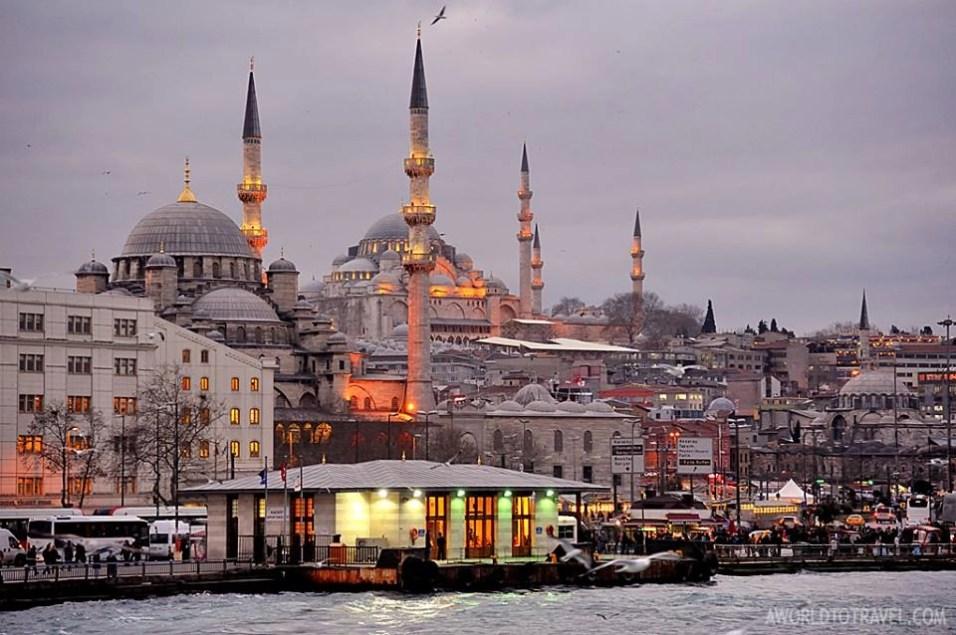 Eminonu Bosphorus Istanbul Turkey A World To Travel