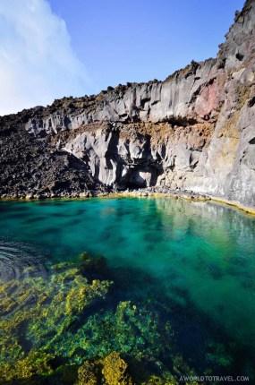 Secret spot near Echentive beach, La Palma.