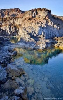 Secret spot at Echentive beach, La Palma