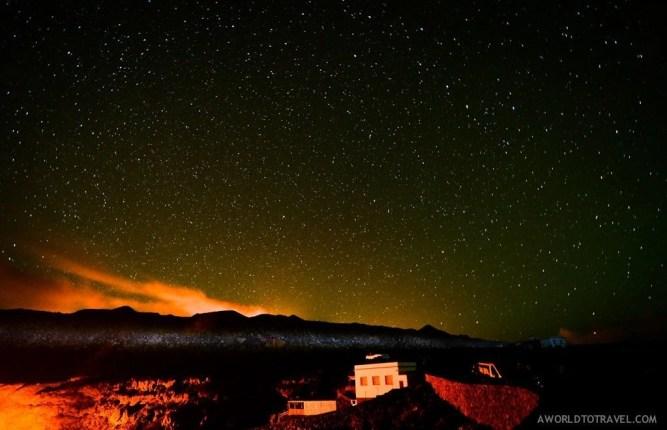 Star gazing in La Palma