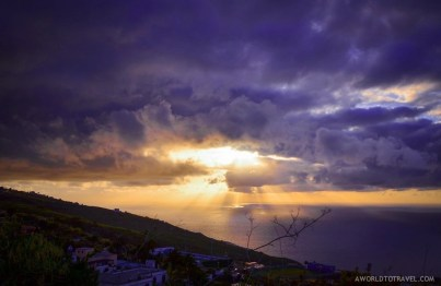 Another mind-blowing sunrise in La Palma