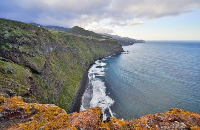 Cliffs to die for, only in La Palma