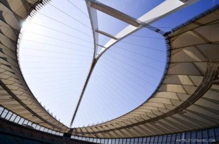 Big Rush Swing Jump Over Moses Mabhida Stadium, Durban, South Africa. #Meetsouthafrica.