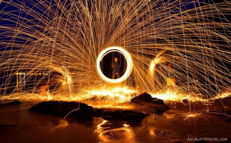 Steel wool phography tutorial-A World to Travel-4