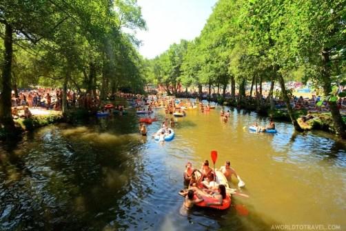 Vodafone Paredes de Coura 2015 music festival - Taboao river beach - A World to Travel-27