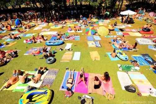 Vodafone Paredes de Coura 2015 music festival - Taboao river beach - A World to Travel-30