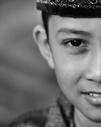 I spy. A little guy in Borobudur Temple - Magelang Jawa Tengah)