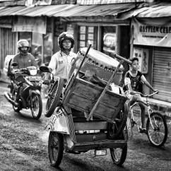 Still impressed with Yogyakarta's lively streets.