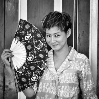 Meet Riyanni @r_djangkaru, a former adventure travel tv host, now turned a shark activist (in Sultan palace Ngayogyakarta Hadiningrat)