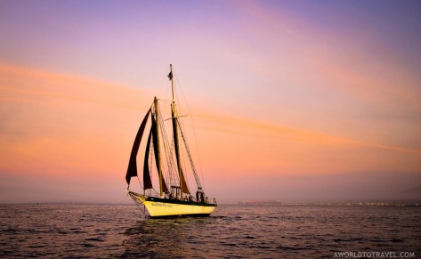 Champagne Cruise at sunset - Cape Town - South Africa - A World to Travel