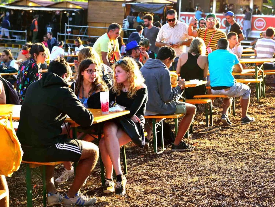 Food Court at Vodafone Paredes de Coura Festival 2016 - A World to Travel (1)