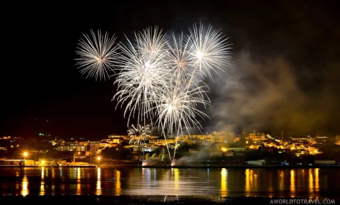 Fireworks over Ribadeo - Galicia - A World to Travel