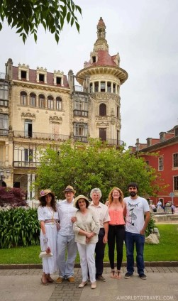 Indianos by Morenos Tower in Ribadeo Galicia - A World to Travel