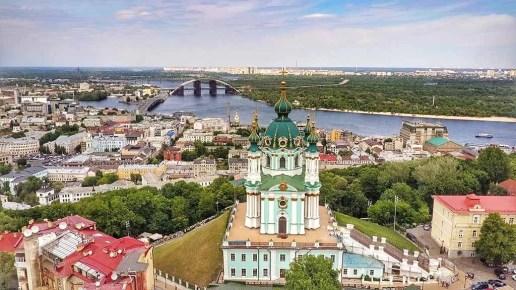 Kyiv Aerial - Ukraine - The Hidden Summer Gem Of Europe - A World to Travel