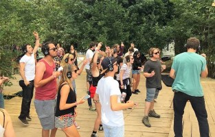 silent disco 2 - Electric Castle Festival – Romania's Best Kept Secret - A World to Travel