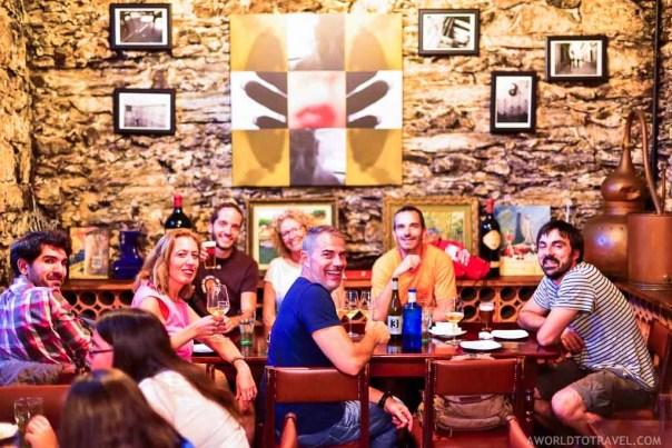 Bodega Bacorino - Galician cuisine - Fun Things to do in Ferrol - A World to Travel (5)