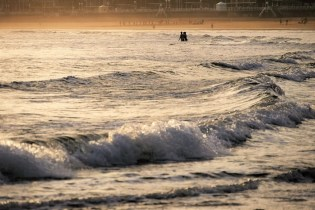 1. San Lorenzo beach at sunrise - Fun Things To Do In Gijon Rain or Shine - A World to Travel (5)