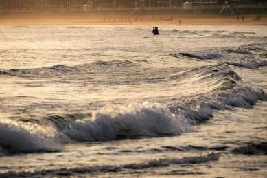 1. San Lorenzo beach at sunrise - Fun Things To Do In Gijon Rain or Shine - A World to Travel (5)