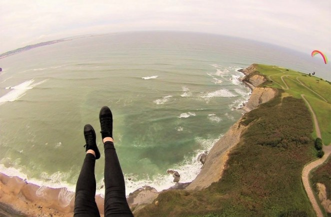 4. Paraglide over Gijon cliffs - Fun Things To Do In Gijon Rain or Shine - A World to Travel (14)
