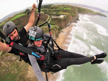 4. Paraglide over Gijon cliffs - Fun Things To Do In Gijon Rain or Shine - A World to Travel (16)