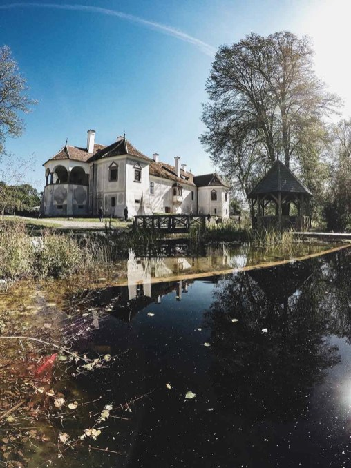 Castle and lake - Visit Covasna County A Stunning Land of Mansions in the Romanian Transylvania - A World to Travel