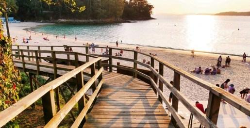 Sunset at Mogor Beach - Terras de Pontevedra - A World to Travel (5)