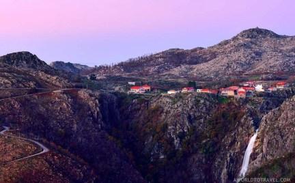 Serra da Freita waterfall - Arouca - Montanhas Magicas Road Trip - Portugal - A World to Travel