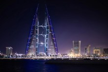 Bahrain World Trade Center at night - Arabian Countries of the Gulf You Should Visit Next - A World to Travel