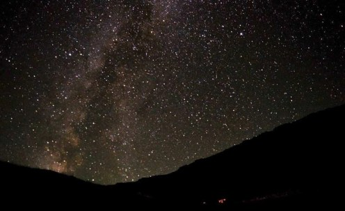 Baba Mountain night sky - Macedonia Travel Guide - A World to Travel
