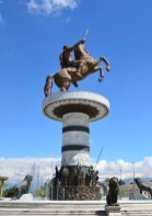 Skopje Square monument Alexander the Great - Macedonia Travel Guide - A World to Travel